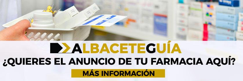 directorio de farmacias de guardia en la ciudad de Albacete