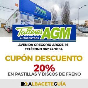 CUPÓN DESCUENTO TALLERES AGM ALBACETE