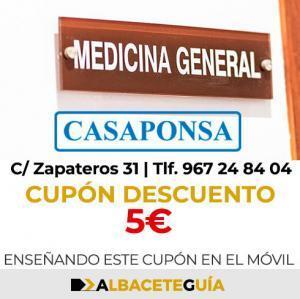 CUPÓN DESCUENTO CASAPONSA
