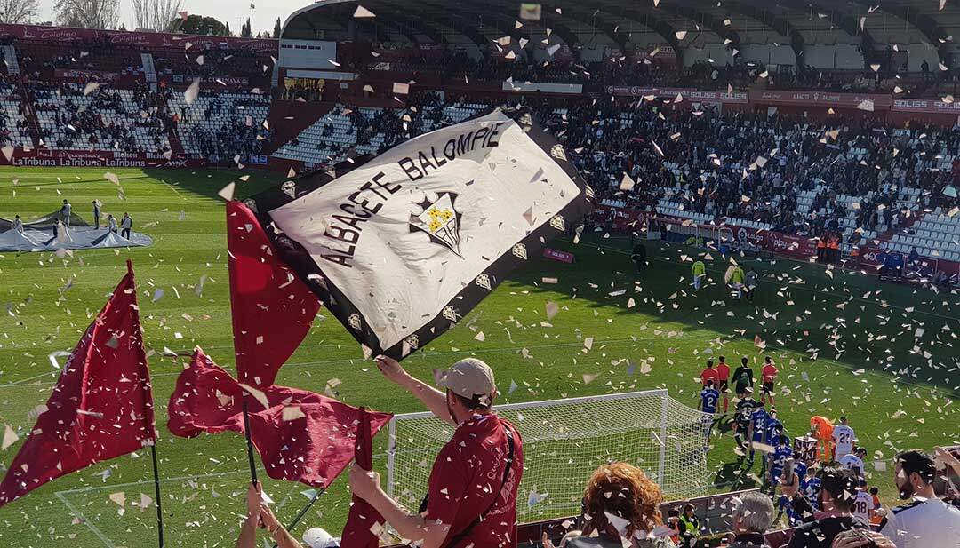la historia y la afición del albacete balompié en futbol