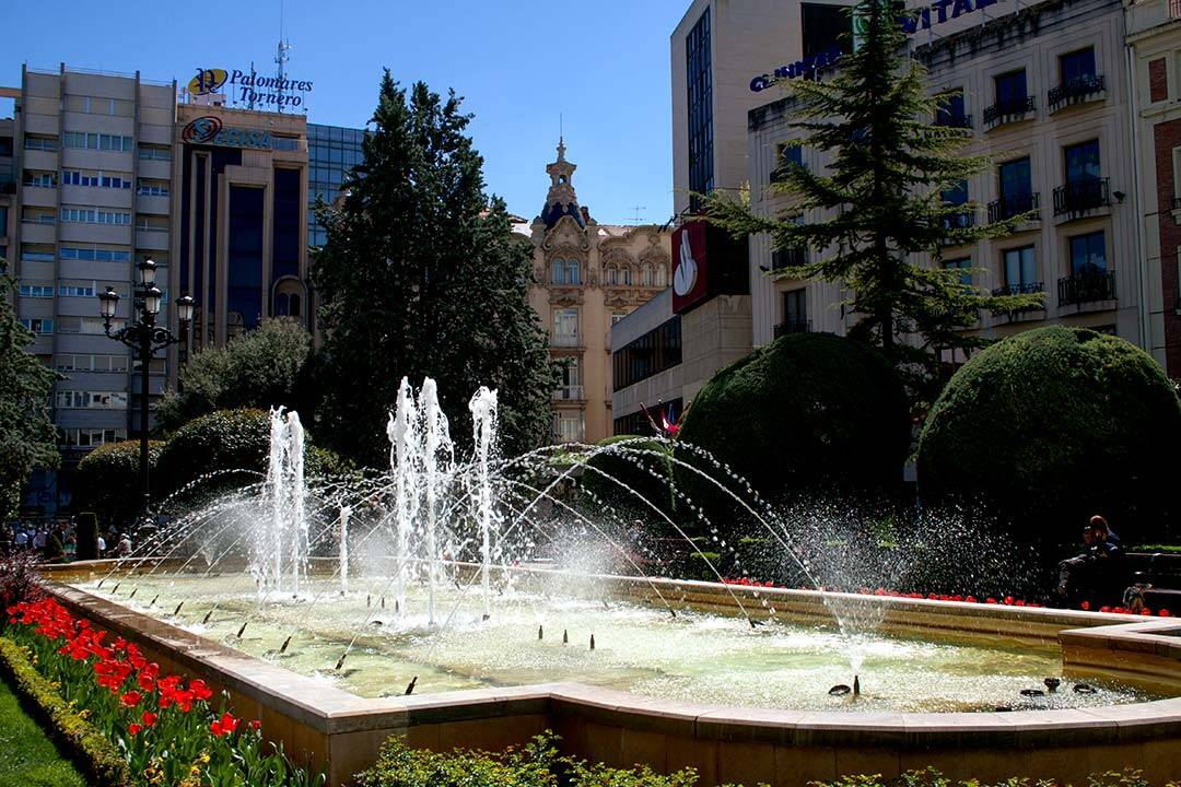 Plaza del Altozano en Albacete