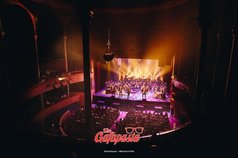 The Gafapasta en el Teatro Circo de Albacete
